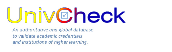 UnivCheck - detecting valid and fradulent degrees and insitutions